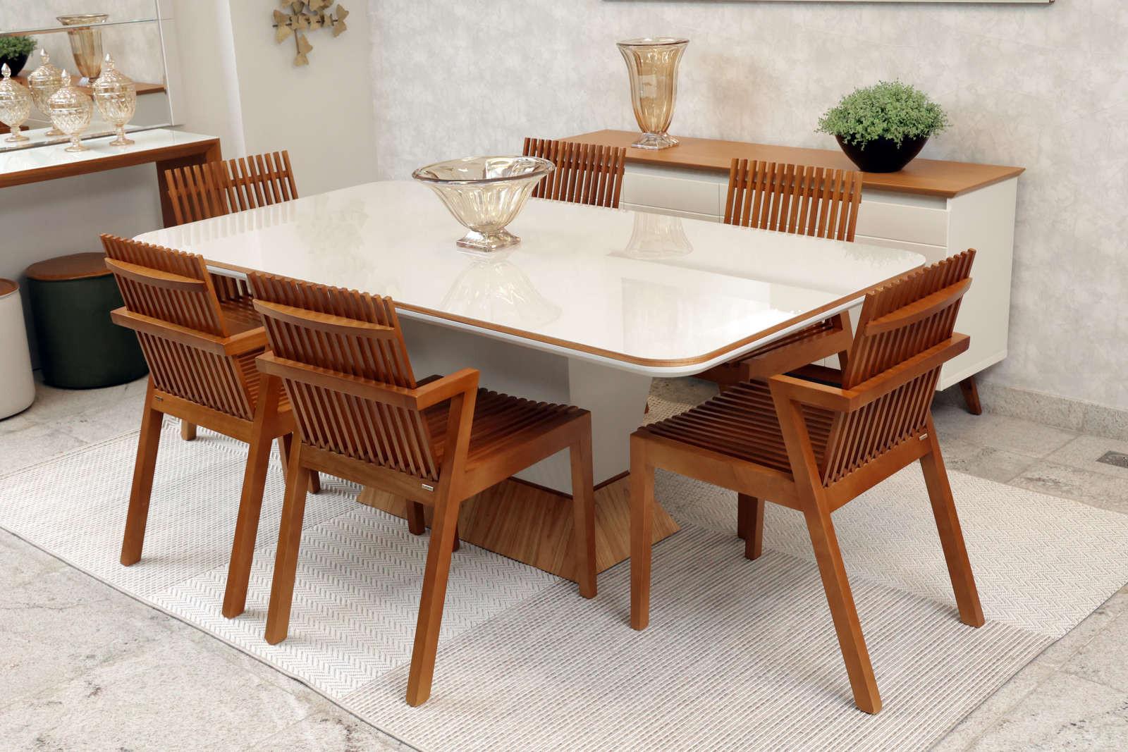 Mesa de Jantar Delirium com Cadeiras Liu