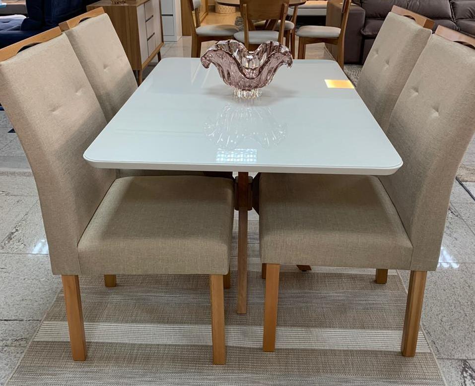 Mesa com 4 cadeiras ipanema