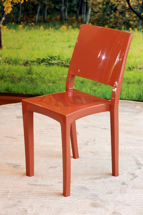 Cadeira Hydra Plus Terracota