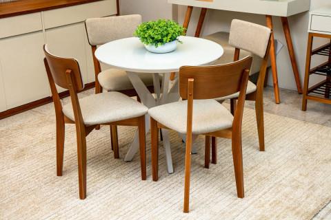 Mesa de Jantar Turim com Cadeiras Tunísia