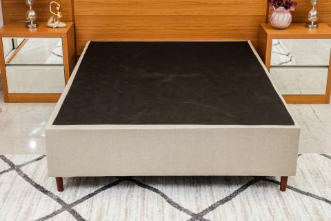 Base Box Casal Confort Império Linho