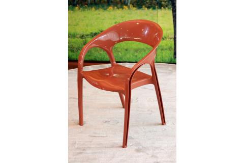 Cadeira Kappesberg Glass Plus Terracota