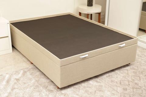 Base Box Baú Império KS Confort 138 tc Linho