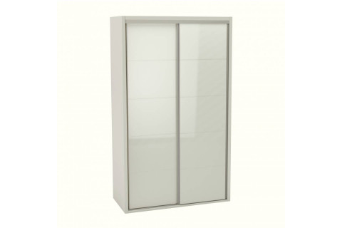 GUARDA ROUPA 2 PORTAS 100% MDF OFF WHITE
