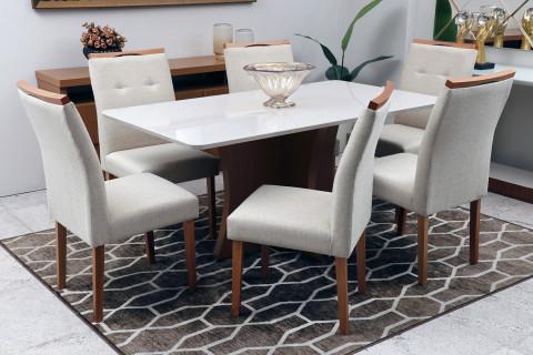 Sala de jantar Vitória com Cadeiras Ipanema