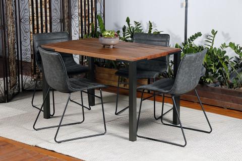 Conjunto de mesa com 4 cadeiras Renar