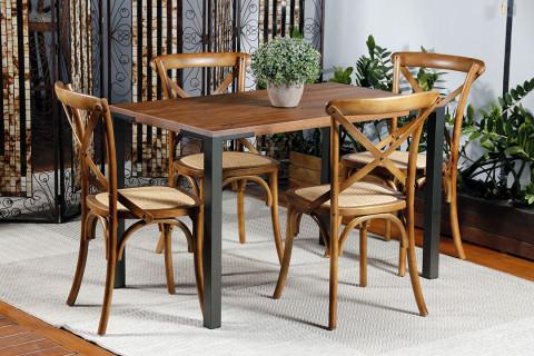 Conjunto de Varanda Renar com 4 Cadeiras