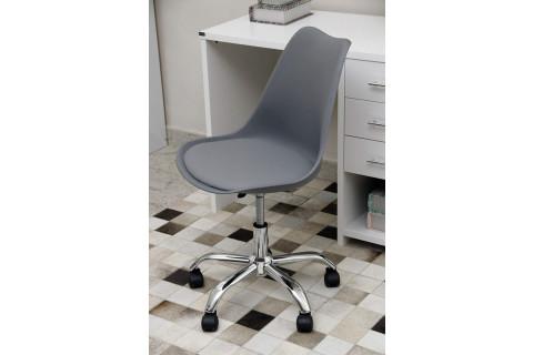 Cadeira Rivatti Luisa Cromada Cinza