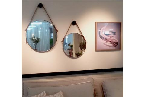 Espelho Rudnick Onix 70x70 Preto Fosco