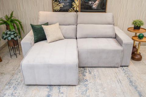 Sofá Retrátil e reclinável 2,20Mts Montano